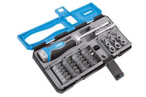 36 Teeth Ratcheting Screwdriver Set + Bits and Socket Set 33pce GIFT SALE