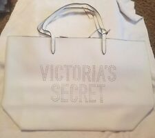 Victorias Secret Limited Edition 2017 Large White Tote w/ Tassel NWT