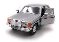Mercedes Benz Classe W123 Argento Modellino Auto Con Richiesta Targa Scala 1:3