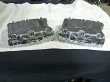 Harley Twin Cam Polished / Ingraved Rocker Covers