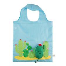 Foldable Shopping Bags By Sass & Belle Cactus Fox Owl Bird Apple Bee Panda Melon