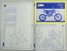 KTM 85SX Ersatzteilliste Ersatzteilkatalog Parts List Motor + Fahrgestell 2003