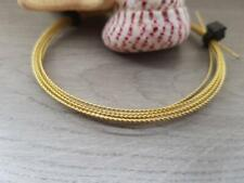 Twisted Brass Wire | Bare Wire | 24 Gauge | 5 Ft Lengths