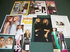 MARY KATE &  ASHLEY OLSEN - CLIPPINGS CUTTINGS  PACK