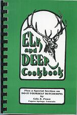 Elk and Deer Cookbook-Do-It-Yourself Butchering-Cooking-Recipes-Preparation