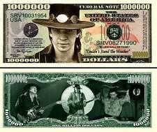 STEVIE RAY VAUGHAN BILLET DE COLLECTION MILLION DOLLAR US! SRV Vaughn Blues Rock