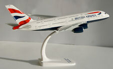 British Airways Airbus a380-800 1:250 HERPA snap-fit 609791 modèle d'avion a380