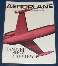 AEROPLANE APRIL 24 1968 - HANOVER SHOW PREVIEW