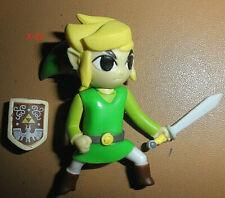 WORLD of NINTENDO mini LINK figure LEGEND OF ZELDA toy SHIELD jakks