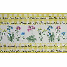 SALE ! Wallpaper Borders Yellow AS 7880-30 Dianthus - Onosis 5m Border