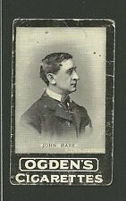 John Hare  Vintage Ogden's Cigarette Card Australia Garrick Theatre London