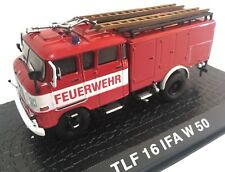 TLF 16 IFA W50 Camión bomberos fire truck 1/72 ATLAS Diecast