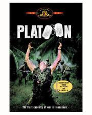 New Platoon (Dvd 1986 Movie Oliver Stone Charlie Sheen Willem Dafoe Tom Berenger
