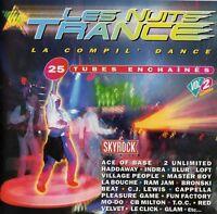 Compilation CD Les Nuits Trance Vol° 2 - France (M/VG+)