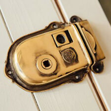 SOLID BRASS CROMWELL TRADITIONAL PERIOD DOOR RIM LOCK PRIVACY LATCH (ATC)
