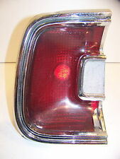 1967 PLYMOUTH BARRACUDA LH TAILLIGHT OEM LENS & HOUSING #2906793