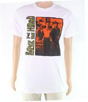 Boyz N The Hood Mens T-Shirt White Size XL Logo Graphic Crew Tee $20- 421