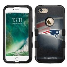 for Apple iPhone 7 Plus Impact Armor Rugged Hybrid Case New England Patriots #B