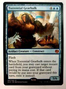 MTG Kaladesh 'Torrential Gearhulk' - Mythic - #067 - VLP