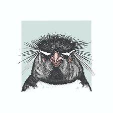 Rockhopper penguin print. Rockhopper penguin wall art