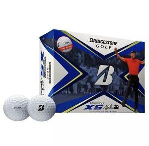2020 Bridgestone Tour B XS Tiger Woods Edition Golf Balls 1 Dozen White NEW