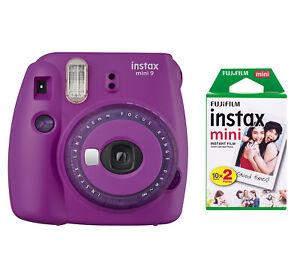 FUJI Instax Mini 9 Sofortbild Kamera inkl. 2 Filme NEU & SOFORT