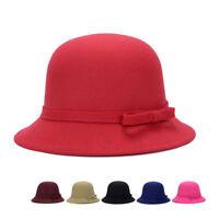 Eg _ à la Mode pour Femmes Élégant Nœud Chapeau Chaude Bal Soirée Extérieur
