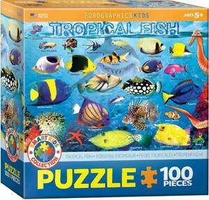 EuroGraphics Tropical Fish Puzzle Jigsaw Puzzle (100-Piece)