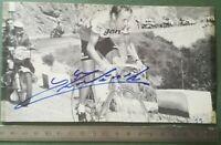 BB19 Photo dédicacée Autographe BE - Course cycliste Equipe GAN - A identifier