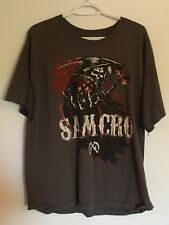 Sons of Anarchy Road Gear Samcro T-Shirt - Men's XL - Reaper - 100% Cotton - SOA
