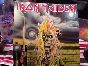 Iron Maiden Heavy Speed Metal LP Vinyl 12 Same Emi 1980 Rock 33umin Ex/ Ex
