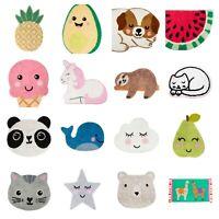 Soft Cotton Rugs Children Carpet Cat Mat Non Slip Kids Bedroom Decor Gift