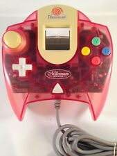 Sega Dreamcast CONTROLLER PAD Clear Passion Pink/Red Millennium 2000 Edition