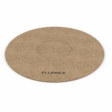 Fluance Turntable Cork Platter Mat Improves Sound for Vinyl Record Players