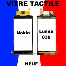 ECRAN VITRE TACTILE COMPLET NOIR pour NOKIA LUMIA 830