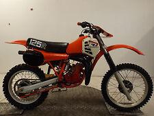 HONDA 1981 CR125 2 STROKE  EVO MOTOCROSS BIKE*FULLY RESTORED*READY TO RIDE*
