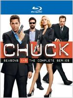 Chuck - Chuck: Seasons 1-5: The Complete Series [New Blu-ray] Boxed Set, Collect