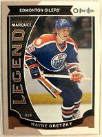 2015-16 Wayne Gretzky O-Pee-Chee Card #583 Marquee Legends Edmonton Oilers