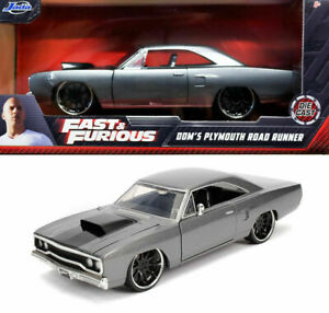 1/24 Jada Plymouth Road Runner The Hammer Fast & Furious 3 Livraison Domicile