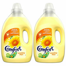 Comfort Sunshiny days Fabric Conditioner, 2 Packs of 85 washes