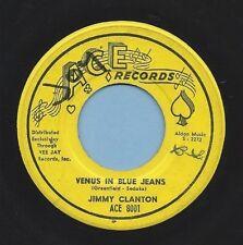 """Jimmy Clanton Ace 8001 """"VENUS IN BLUE JEANS"""" (GREAT ROCK N ROLL)45 SHIPS FREE"""