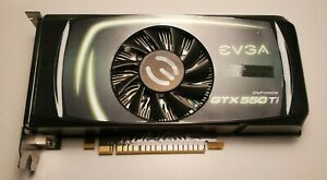 EVGA NVIDIA GeForce GTX 550Ti 1GB GDDR5 Desktop Graphics Card GPU GTX550TI NR