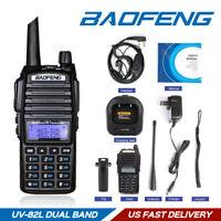 US Baofeng UV-82L VHF/UHF 2m/70cm-Band 2000mAh HT Two-way Ham Radio Transceiver