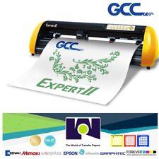 GCC Expert Ⅱ 24 HTV & Vinyl Cutter Plotter+Stand FREE Software + FREE Shipping