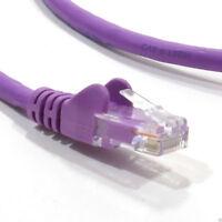 10m C6 CAT6-CCA UTP RJ45 Ethernet LSZH Networking Cable Purple [007809]