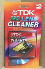 TDK MINI LETTORE CD REGISTRATORE MD Pickup Laser Lens Cleaner Brush & SOUND CHECK