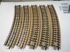 Marklin Ho 3600 A  like 5100 10 curved   sections brass rails  nice!