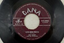 1950's - 60's Lot of 3 Polka Word 45 RPM Records -  K10