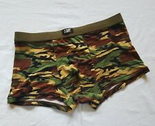 MENS CAMOUFLAGE SEXY FASHION BOXER TRUNKS - SIZE XL