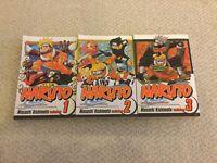 Naruto Manga Comic Books Comics English Volume 1 2 3 Shonen Jump